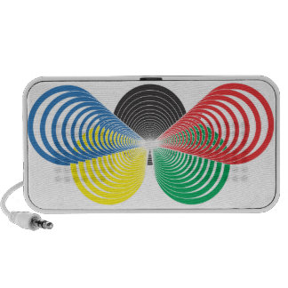 Colors and shapes laptop speakers