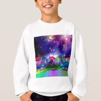 Colors and stars light up the night sweatshirt