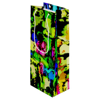 colors and vibes 3 wine gift bag