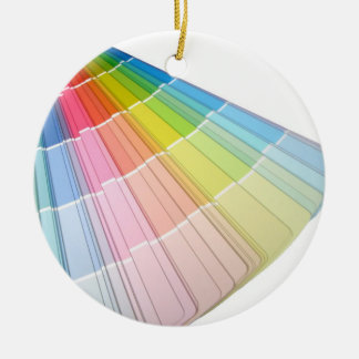 Colors Ceramic Ornament