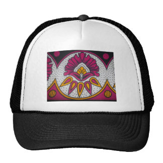 colors cool retro vintage African traditional styl Cap