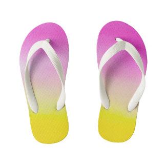 Colors Custom Flip Flops, Kids Thongs