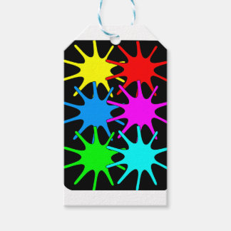 colors gift tags