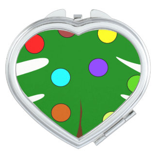 Colors Heart Compact Mirror