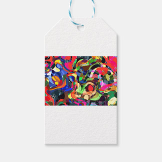 Colors mashup gift tags