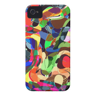 Colors mashup iPhone 4 Case-Mate cases