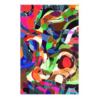 Colors mashup stationery