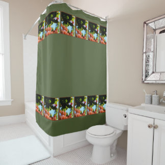 Colors of Autumn 02.2.3 Shower Curtain