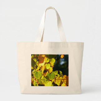 Colors of Autumn (Herbstblätter) Canvas Bags