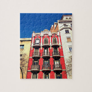 Colors of Barcelona Puzzles