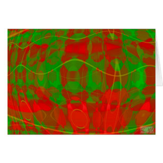 Colors of Christmas II Greeting Card