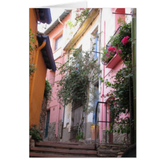 Colors of Collioure Card