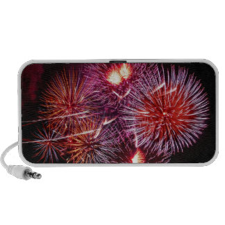 Colors of fireworks - speakers