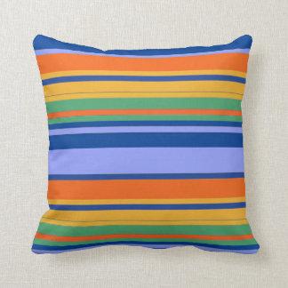 Colors of Horizontal Lines Throw Pillow Decor-2