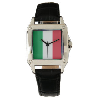 Colors of Italy Flag. Watch