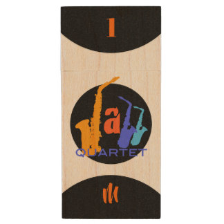 Colors of Jazz Quartet Monogram USB Flash Drive