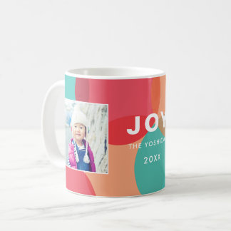 Colors of Joy 2 Photo Personalized Mug