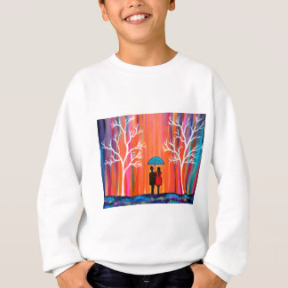Colors of Love colorful romantic painting giftart Sweatshirt
