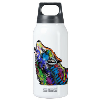 COLORS OF NIGHT INSULATED WATER BOTTLE