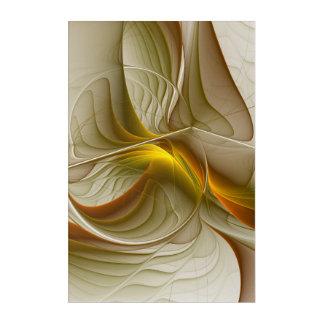 Colors of Precious Metals, Abstract Fractal Art