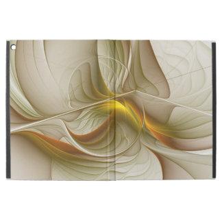 """Colors of Precious Metals, Abstract Fractal Art iPad Pro 12.9"""" Case"""