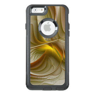 Colors of Precious Metals, Abstract Fractal Art OtterBox iPhone 6/6s Case
