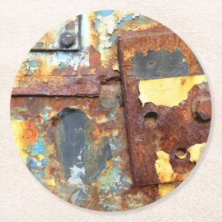 Colors of Rust 01.ob.1, ROSTart Round Paper Coaster