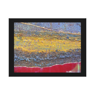 Colors of Rust_729, Rust-Art Canvas Print