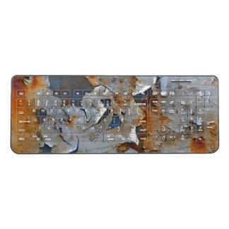 Colors of Rust_751, Rust-Art Wireless Keyboard