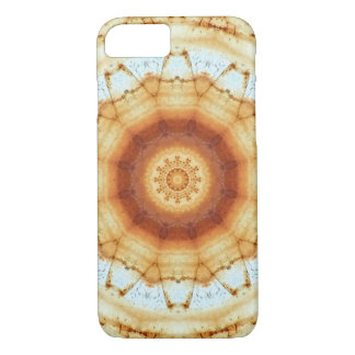 Colors of Rust/mandala-style rust iPhone 7 Case