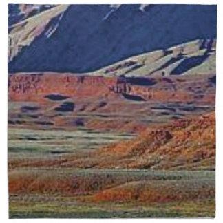 colors of the desert napkin