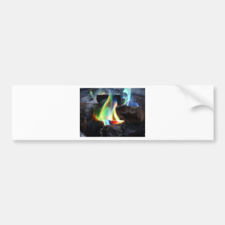 Colors of the Flame Bumper Sticker