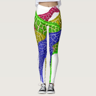 Colors of the giraffe leggings