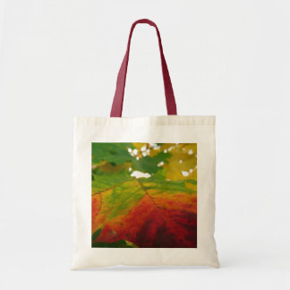 Colors of the Maple Leaf Autumn Nature Photography Tote Bag