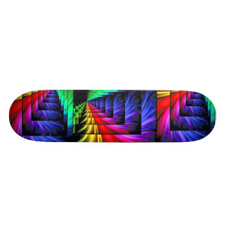 Colors of the mind_ skateboard decks