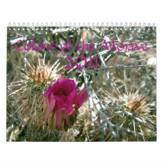 Colors of the Mojave 2011 Calendars