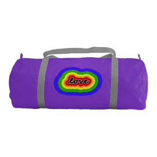 Colors of the Rainbow Love & Pride Gym Bag