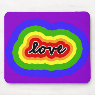 Colors of the Rainbow Love & Pride Mouse Pad