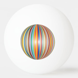 Colors of the Rainbow Ping Pong Ball
