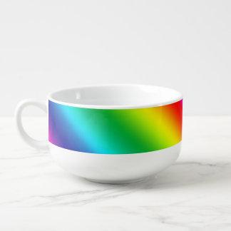 Colors of the Rainbow Soup Mug