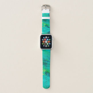 Colors of the Sea | Watercolor Look Apple Watch Band