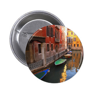 Colors of Venice, Italy 6 Cm Round Badge