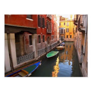 Colors of Venice, Italy Postcard