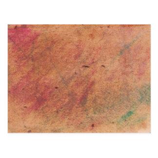 Colors Parchment Postcard