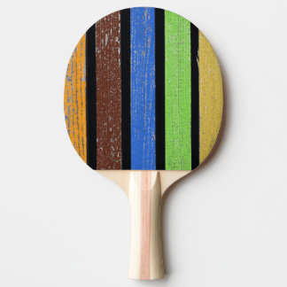 Colors Ping Pong Paddle, Red Rubber Back