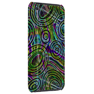 Colors swirls barely there iPod case