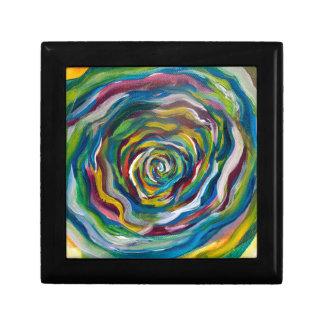 Colors Wheel Small Square Gift Box