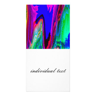 colors without limits C Photo Greeting Card
