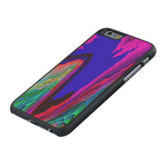 colors without limits C Carved® Maple iPhone 6 Case