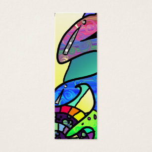 Bookmark business cards business card printing zazzle colorshock bookmarks mini business card colourmoves